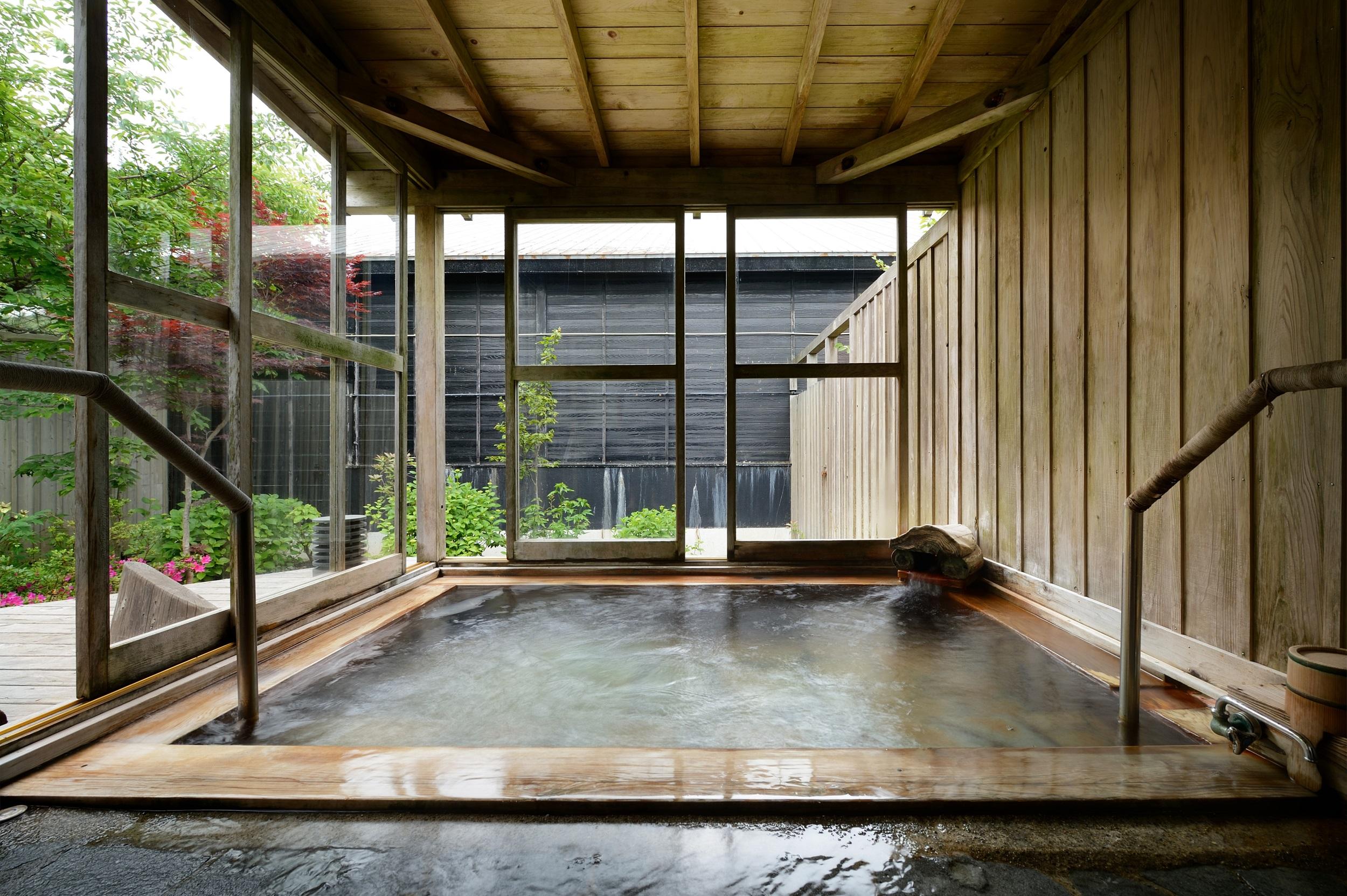満天の星-客室露天風呂イメージ