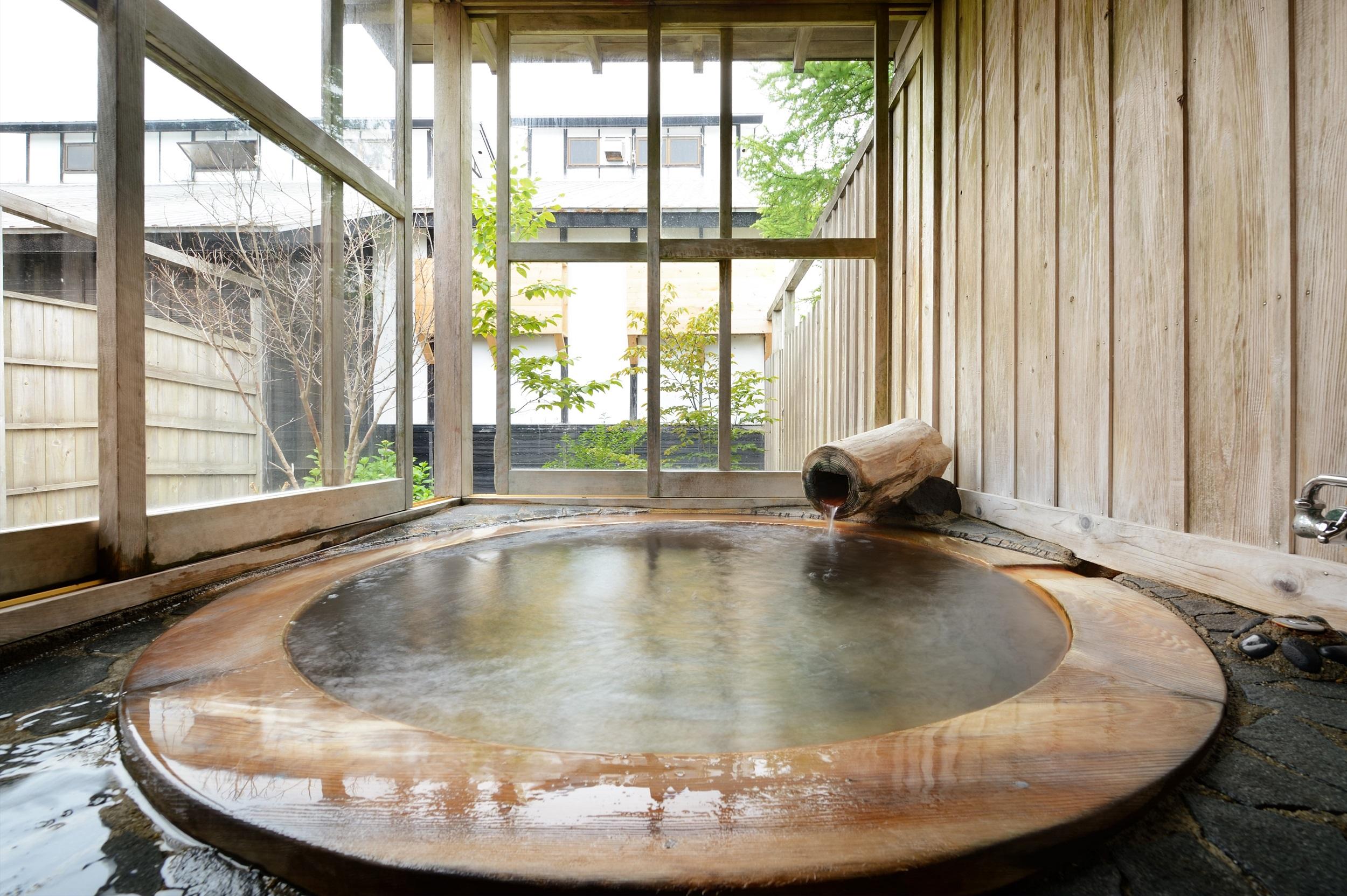月の歌-客室露天風呂イメージ